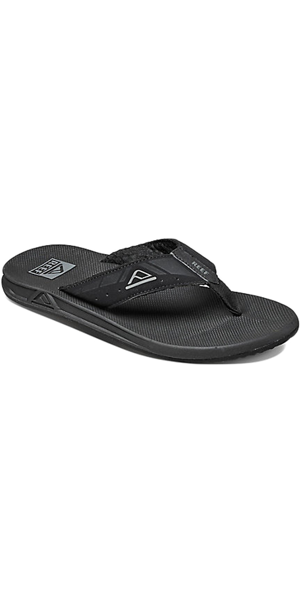 2018 Reef Phantoms Sports Flip Flops BLACK R002046