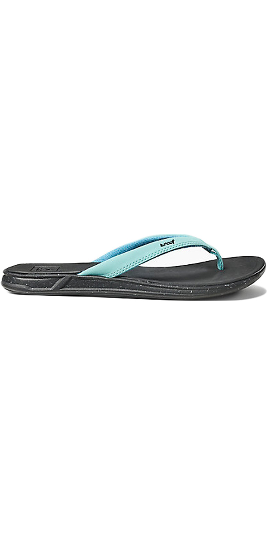 2018 Reef Womens Rover Catch Pop Flip Flops STARLIGHT BLUE RA3FEQ