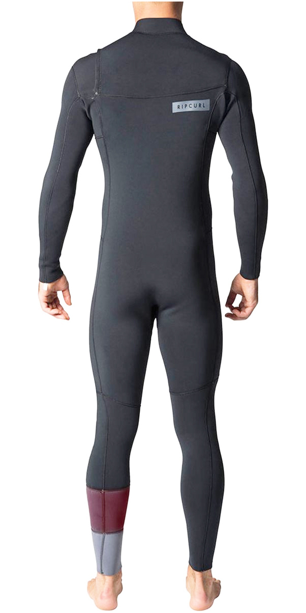 2018 Rip Curl Aggrolite 5/3mm GBS Chest Zip Wetsuit Charcoal WSM8SM - 2ND