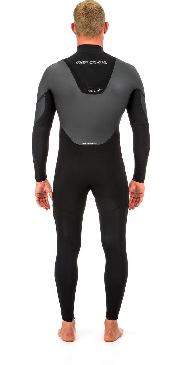2020 Rip Curl Flashbomb Heatseeker 5/3mm Zip Free Wetsuit BLACK WST8VF