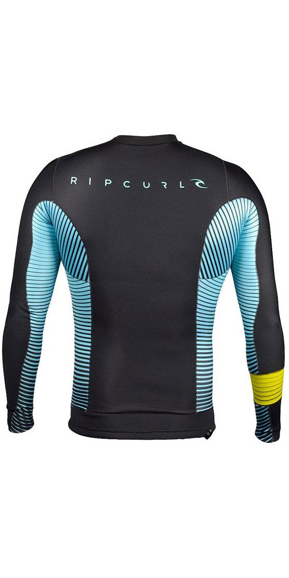 2018 Rip Curl Aggrolite 1.5MM Long Sleeve Jacket Aqua WVE4KM