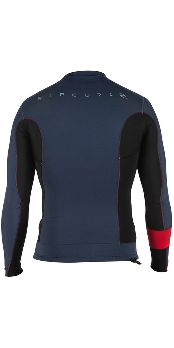 2018 Rip Curl Aggrolite 1.5MM Long Sleeve Jacket Red WVE4IM