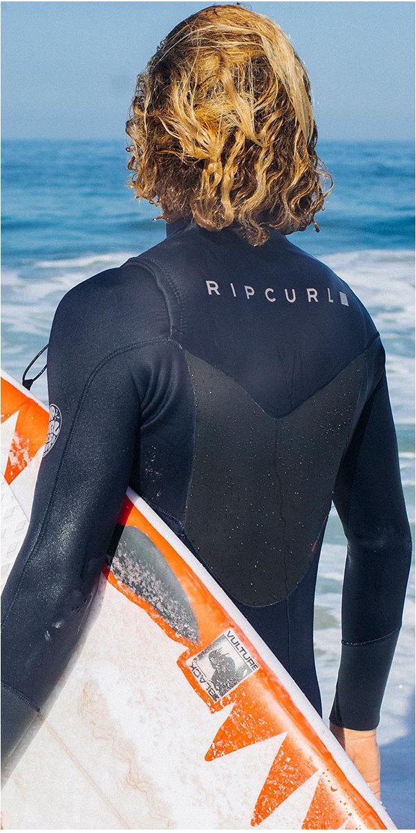 Rip Curl Dawn Patrol 5/3mm Chest Zip Wetsuit NAVY WSM7GM