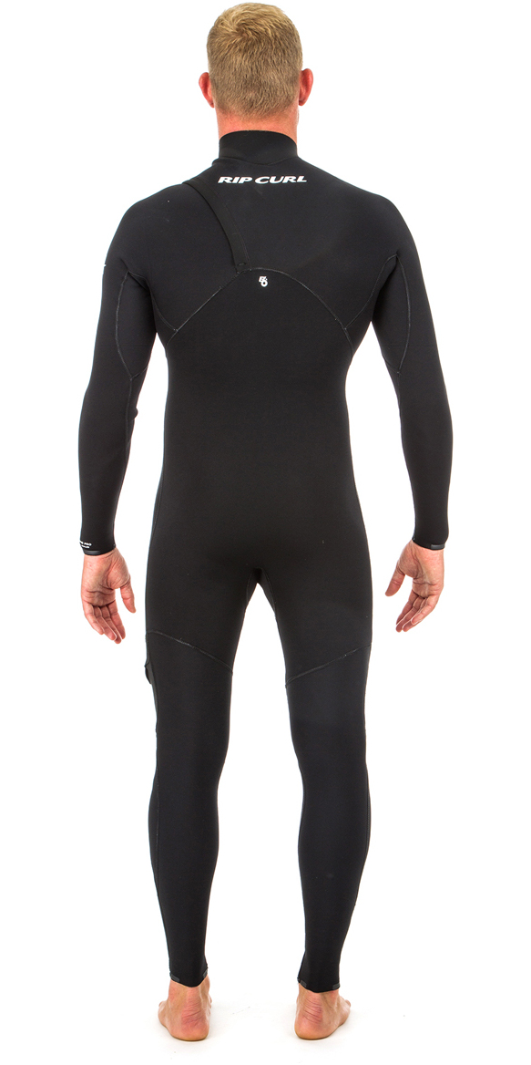 2018 Rip Curl E Bomb Pro 3/2mm Zip Free Wetsuit BLACK WSM8RE