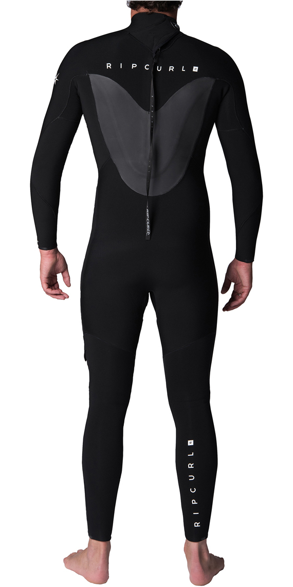 2019 Rip Curl Flashbomb 5/3mm Back Zip Wetsuit BLACK WST8KF