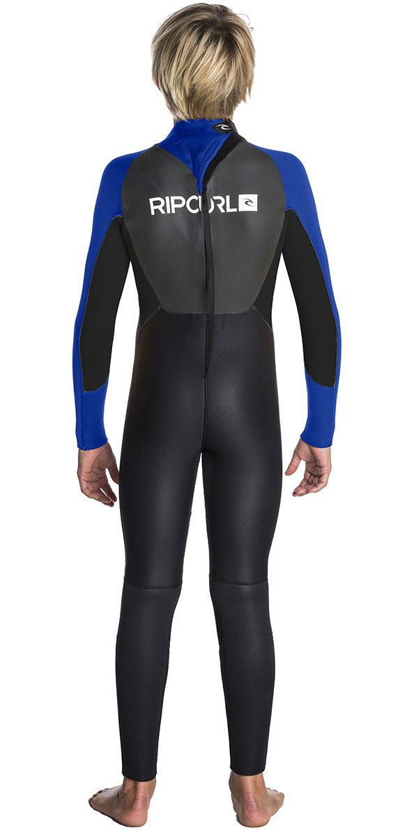 Rip Curl Junior Omega 3/2mm GBS Wetsuit BLUE WSM5EB