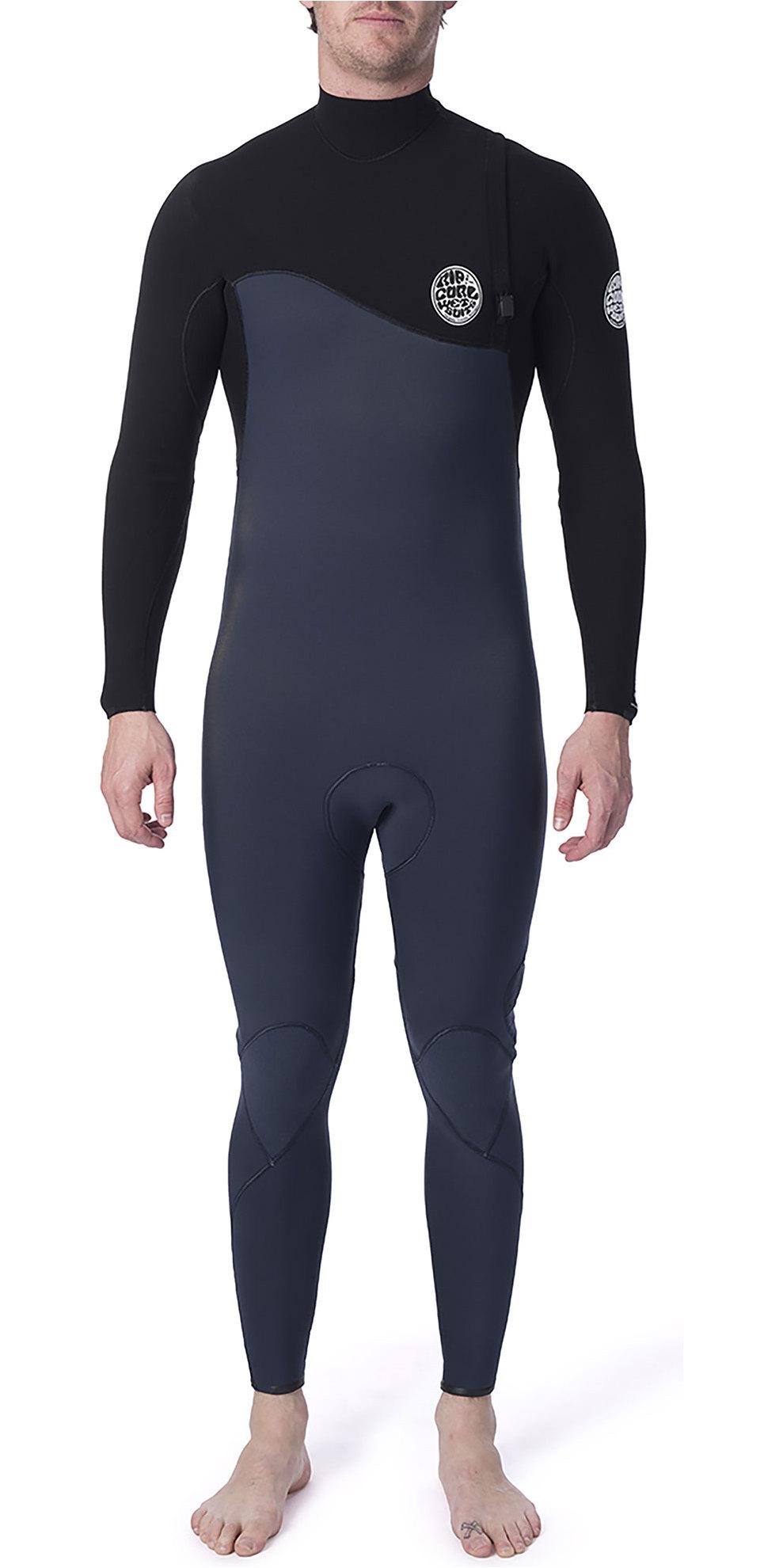 BRAND NEW Rip Curl Mens FlashBomb 3//2 Zipperless//Zip Free Wetsuit Size L