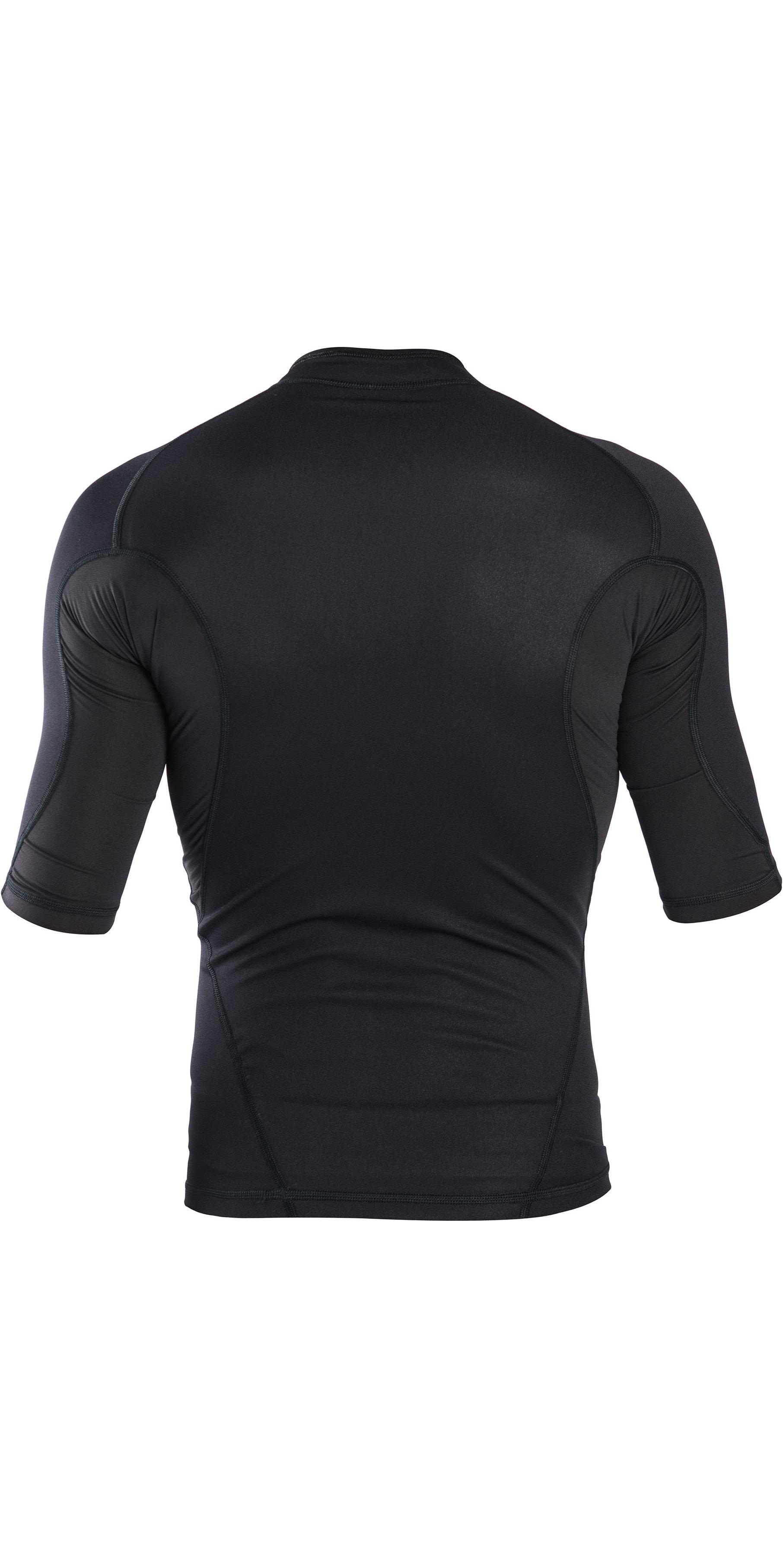 2019 Rip Curl Mens Hotskin 0.5mm Short Sleeve Neoprene Jacket Black WVE8HM