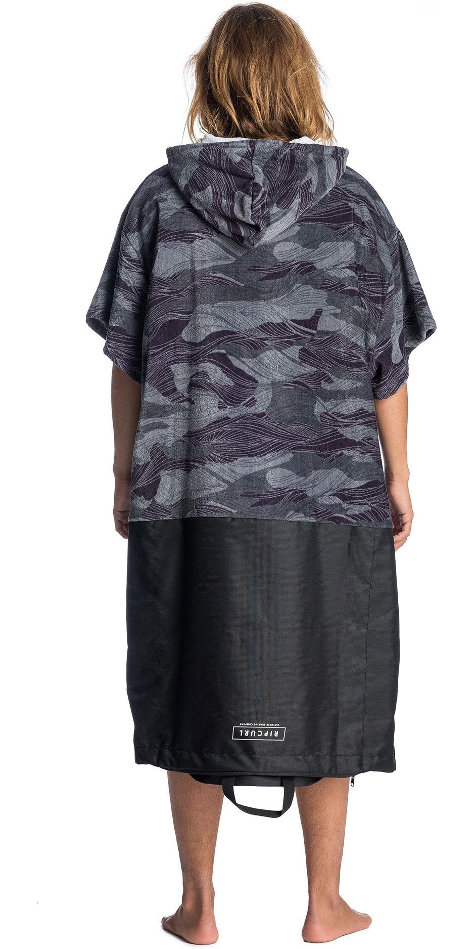 2019 Rip Curl Newy Change Robe / Poncho Khaki CTWAV4