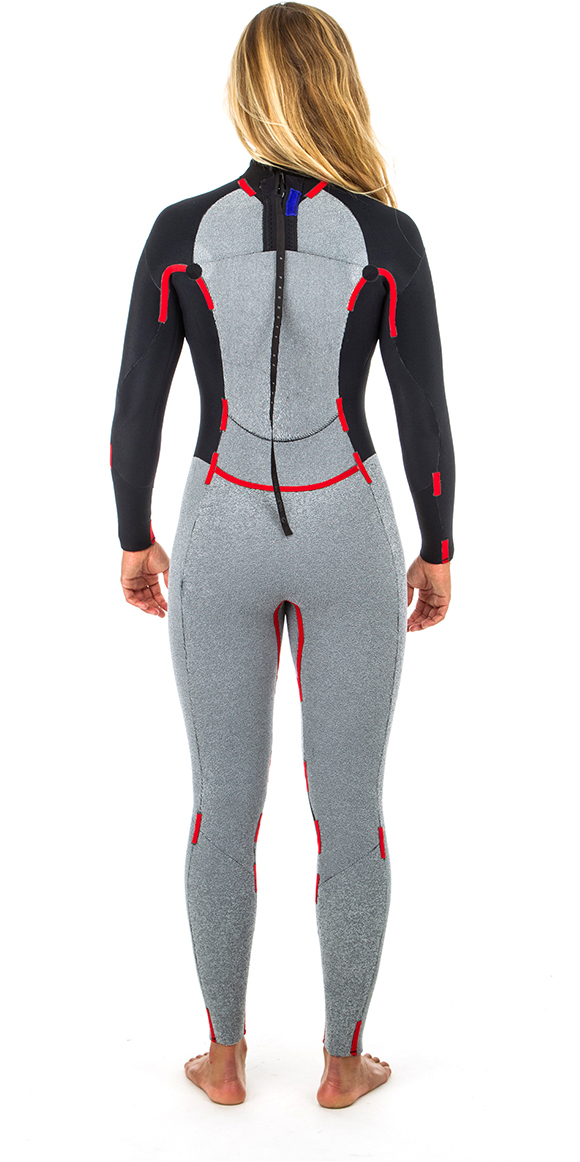 2019 Rip Curl Womens Dawn Patrol 5/3mm GBS Back Zip Wetsuit NAVY WSM8EW