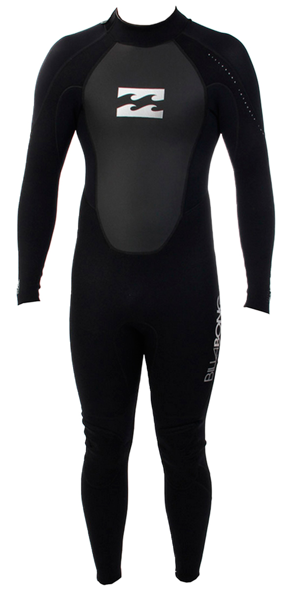Billabong Toddler Intruder 3/2mm Wetsuit BLACK S43B05
