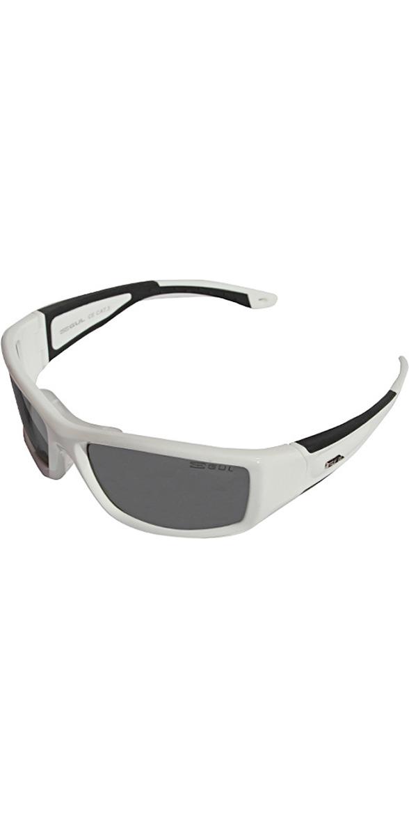 2019 Gul CZ Pro Floating Sunglasses WHITE / BLACK SG0001