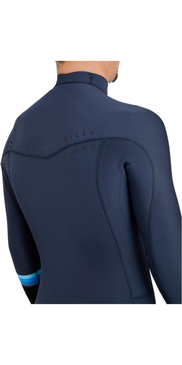 2018 Billabong Revolution DBAH 3/2mm Chest Zip Wetsuit SLATE H43M12