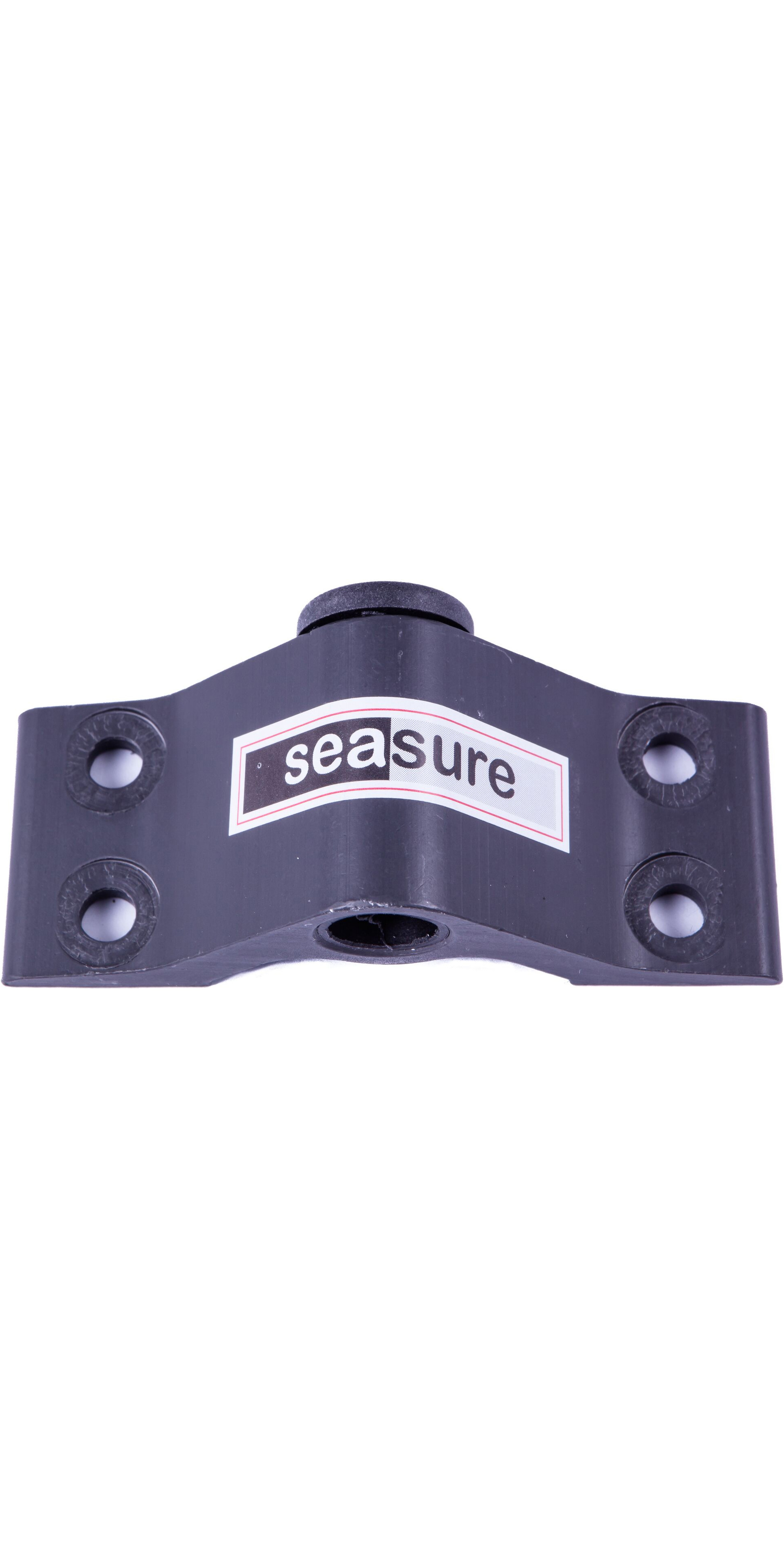 Sea Sure 8mm Bottom Transom Gudgeon 4-Hole Mounting With Carbon Brush - 5mm Mounting Holes