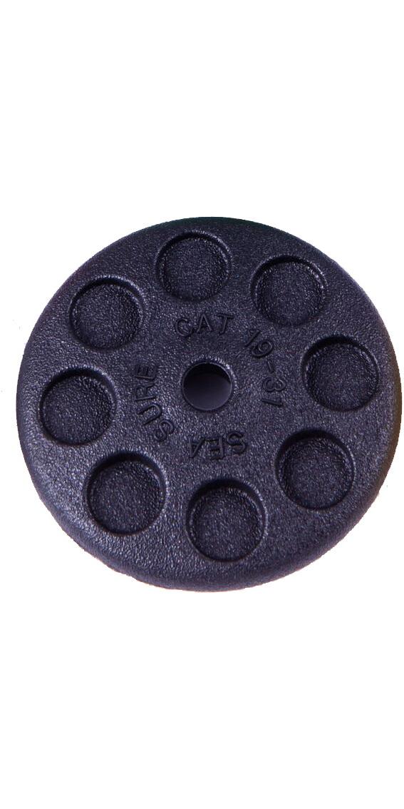 Sea Sure Large Disc Trapeze Handle Black