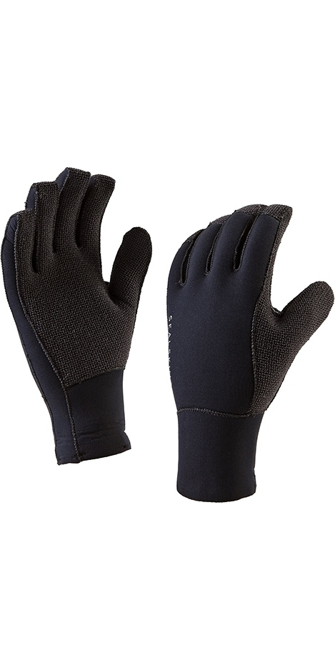2019 SealSkinz Neoprene Tough Gloves Black 1210054101