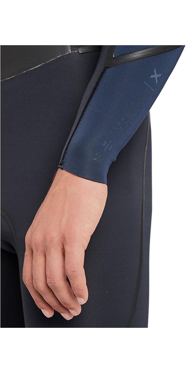 2018 Billabong Furnace Absolute X 4/3mm Chest Zip Wetsuit Slate L44M07