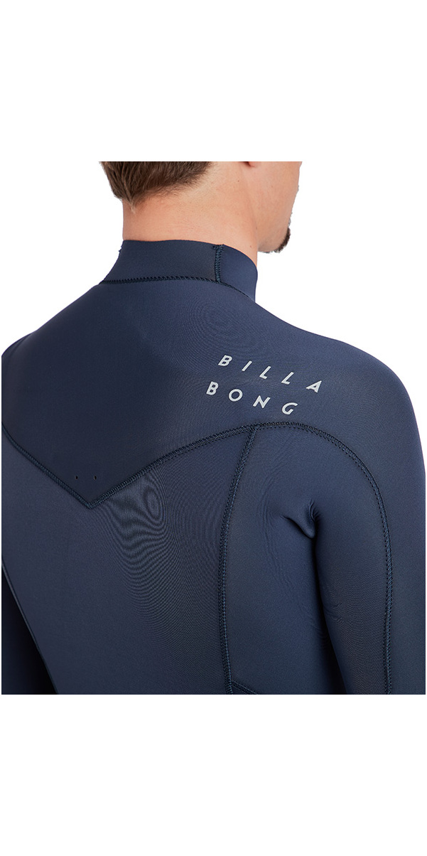 2018 Billabong Furnace Absolute 4/3mm Chest Zip Wetsuit Slate L44M09