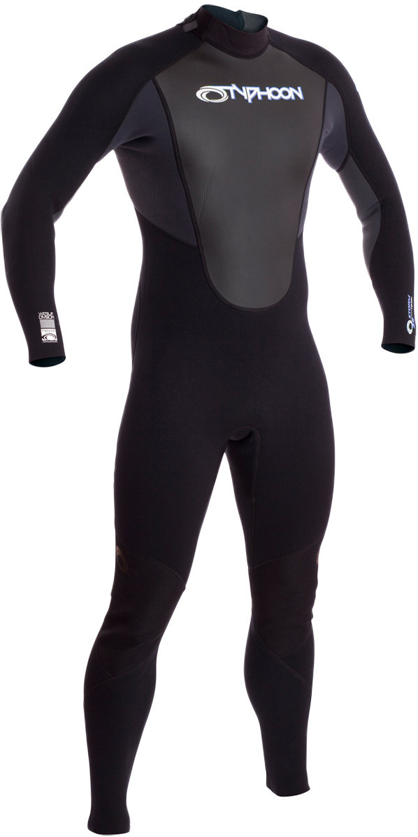 2019 Typhoon Storm 5/4/3mm GBS Wetsuit Black / Grey 250662