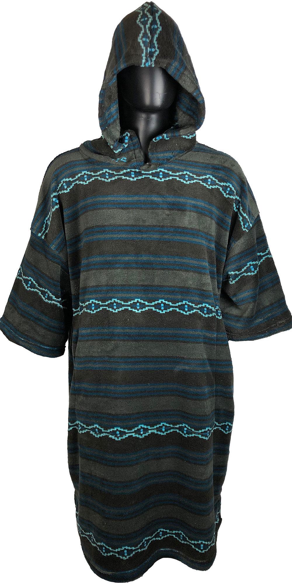 2019 TLS Hooded Poncho / Change Robe Bohemian Stripe