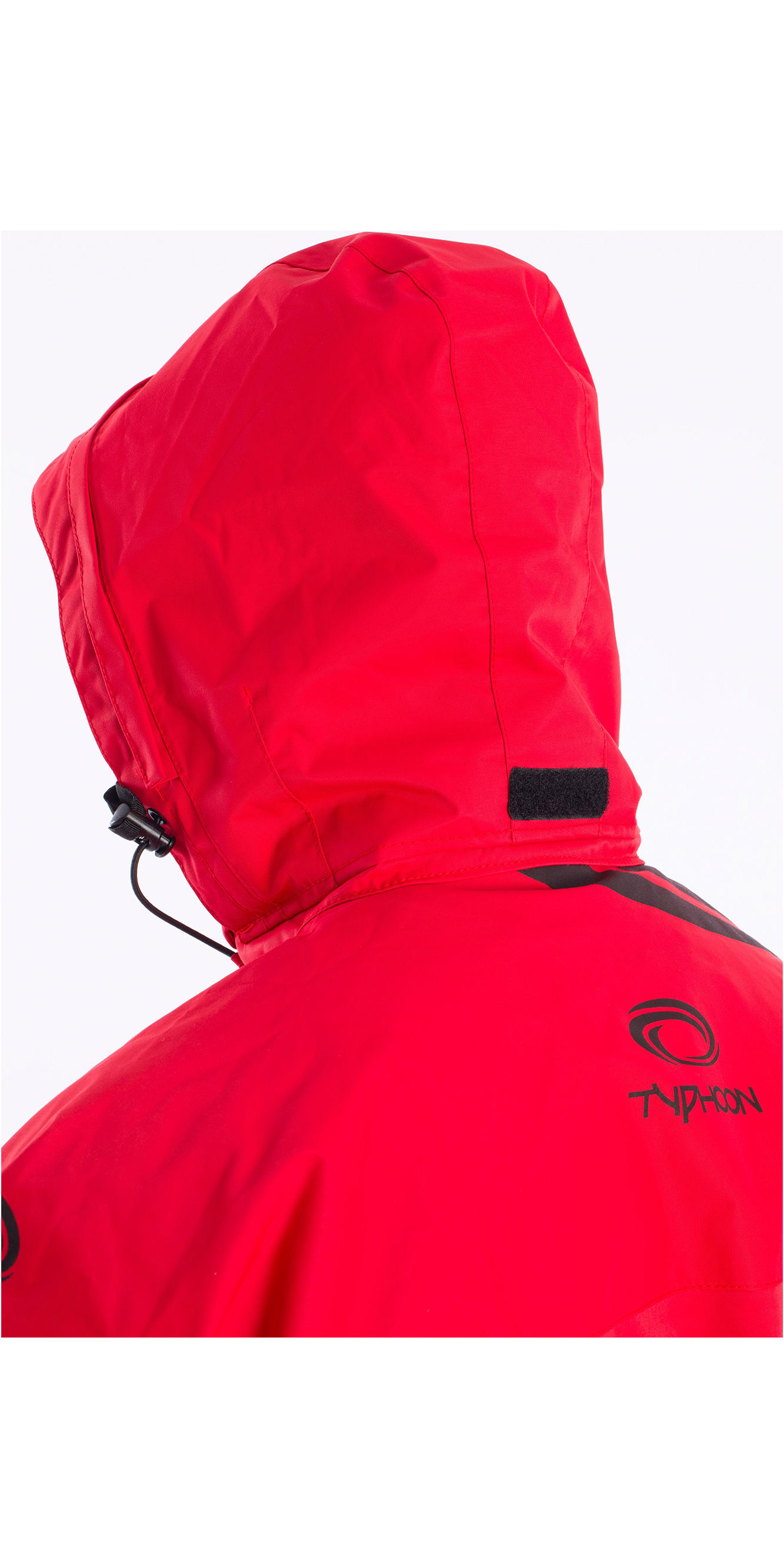 2019 Typhoon Sirocco Hooded Dinghy Kayak Smock Red 430360