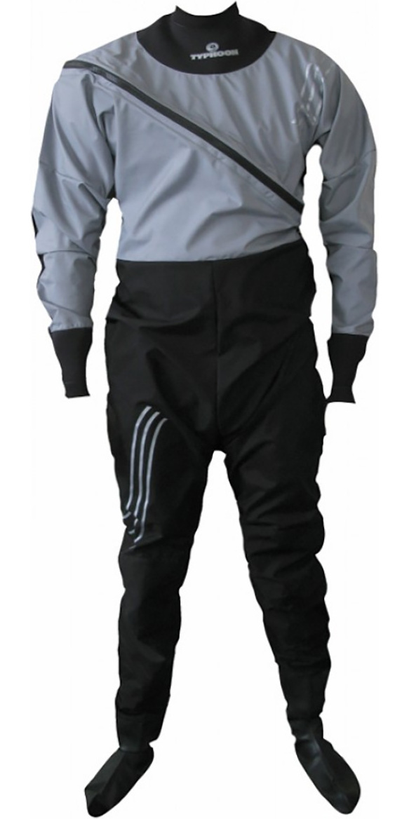Typhoon Racer Ezeedon Drysuit Grey / Black 100127
