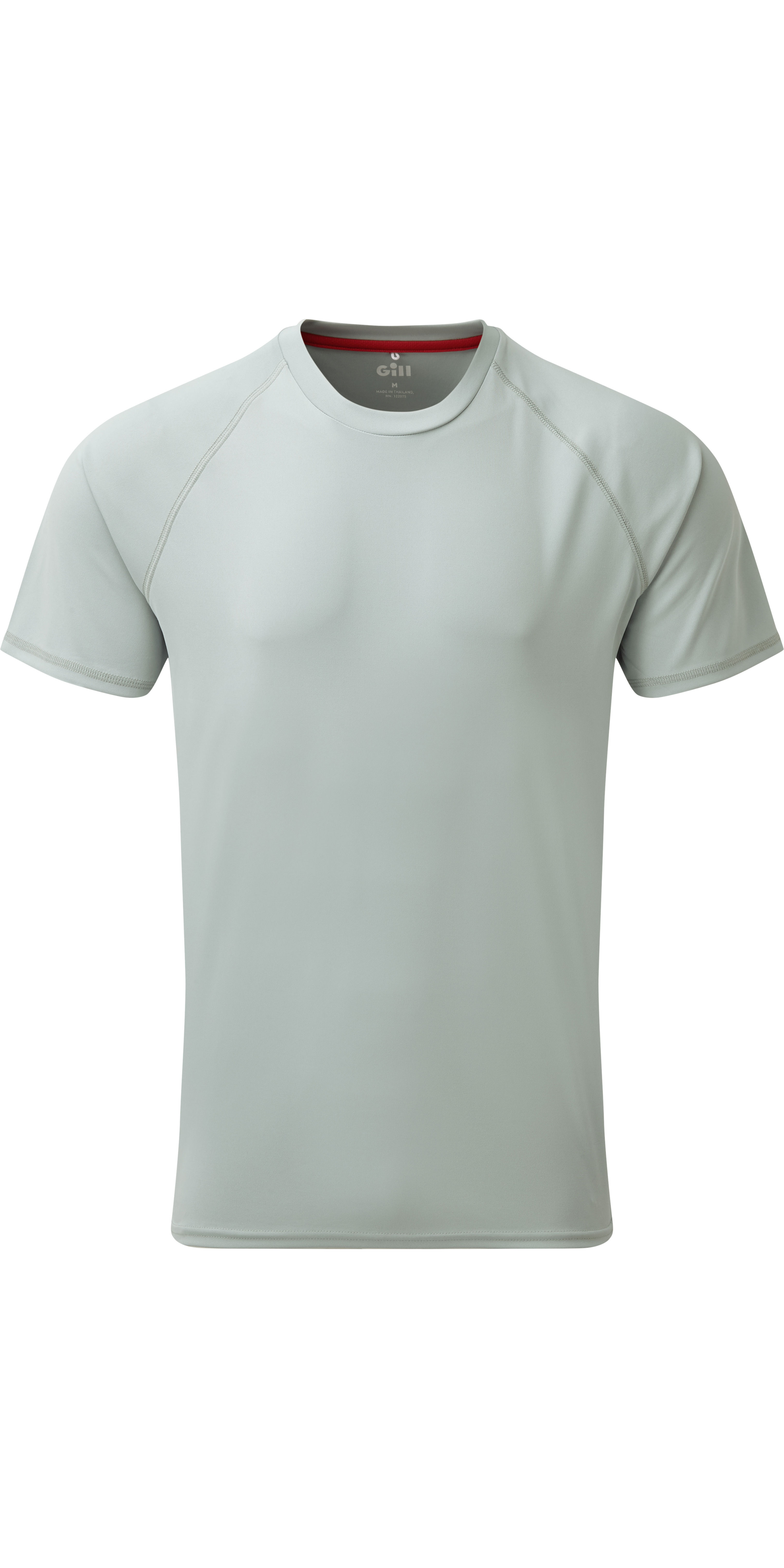 79de862b4b 2019 Gill Mens Uv Tec Tee Grey Uv010 - Sailing Tops & T Shirts - Shore Wear  - Sailing | Wetsuit Outlet