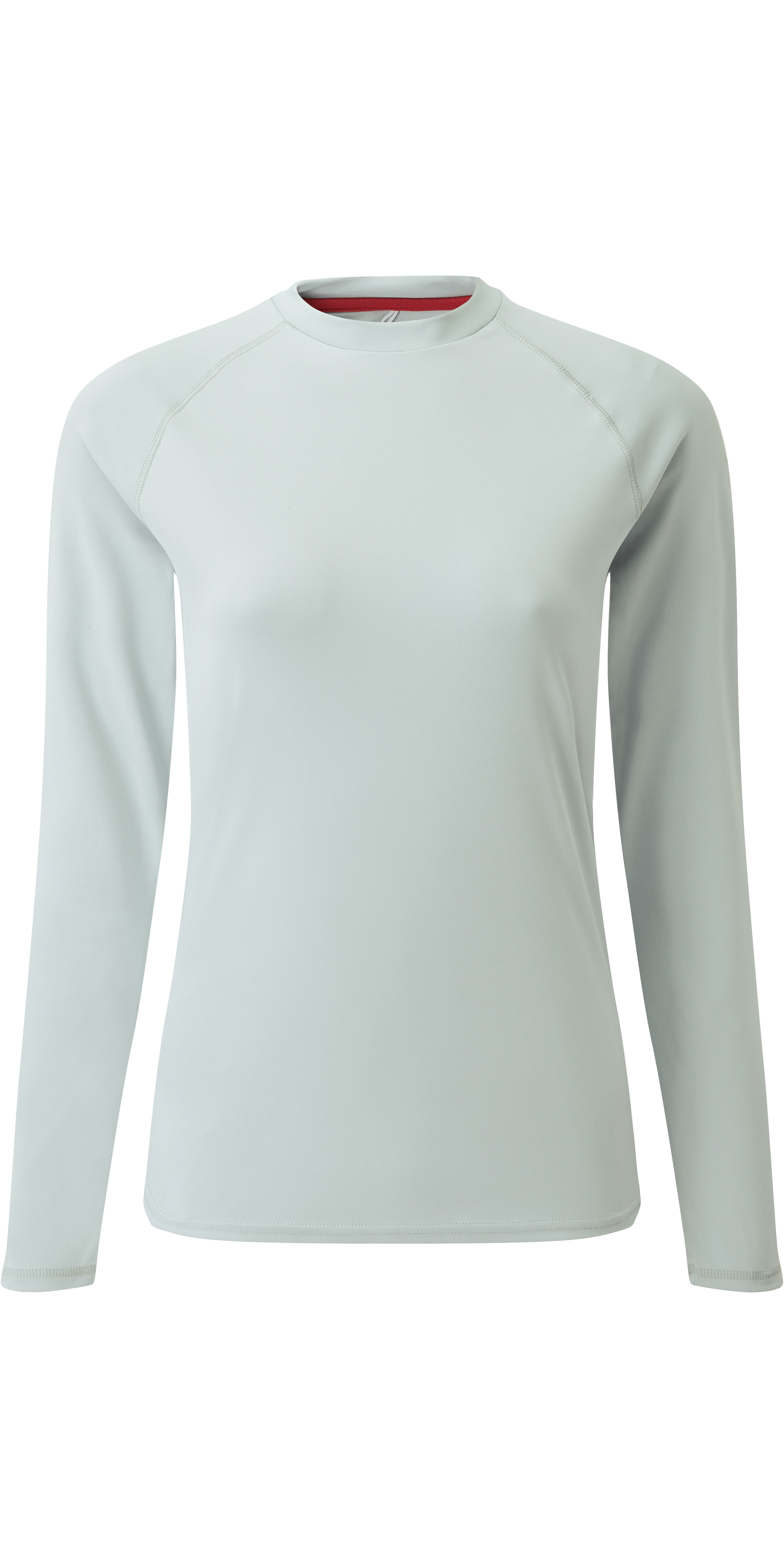 2019 Gill Womens Long Sleeve UV Tec Tee Grey UV011W