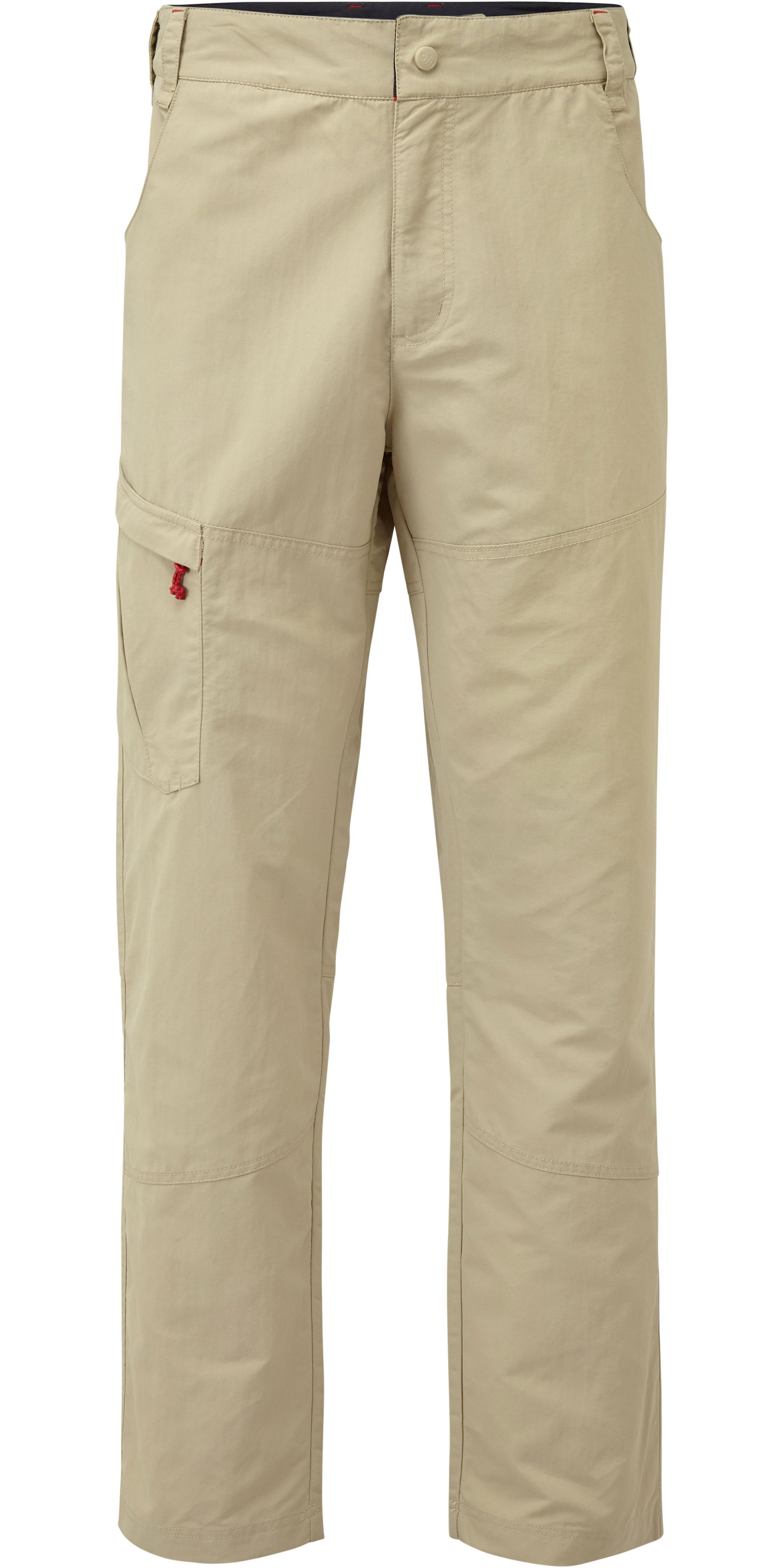 2019 Gill Mens UV Tec Trousers Khaki UV014