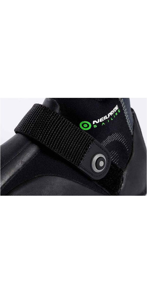 2018 Neil Pryde Elite Low Cut Skiff Shoe Black WNPFT803