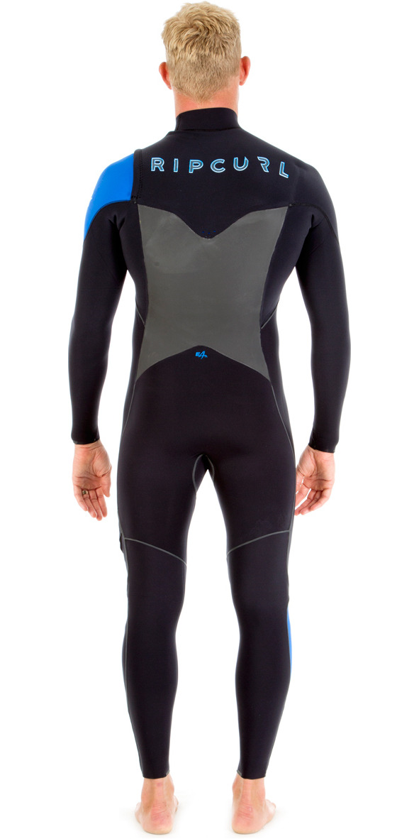 Rip Curl E-Bomb 5/4/3mm GBS Chest Zip Wetsuit BLUE WSM5CE