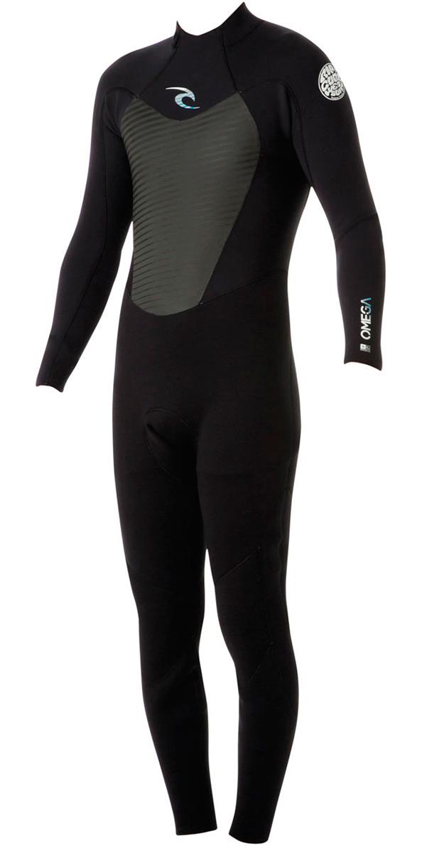 2017 Rip Curl Junior Omega 5/3mm GBS Wetsuit BLACK WSM5GB