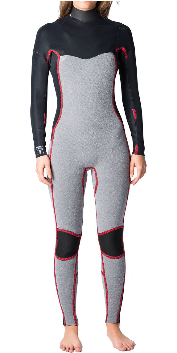 2019 Rip Curl Womens Dawn Patrol 4/3mm GBS Chest Zip Wetsuit NAVY WSM8JW
