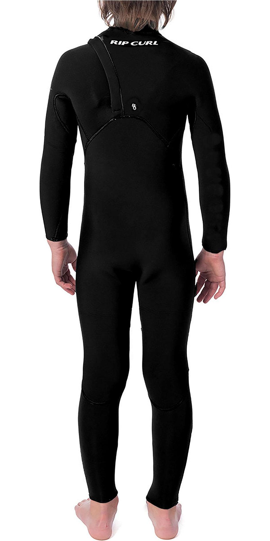 2020 Rip Curl Junior Flashbomb 5/3mm Zipperless Wetsuit Black WSM9XB