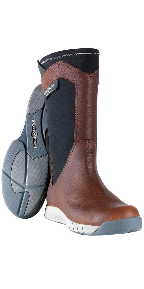 size 40 5cf26 f2660 Henri Lloyd Shadow Sailing Boot Brown / Black Y92038