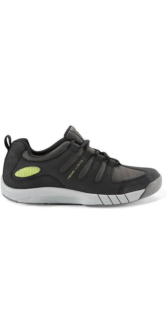 2018 Henri Lloyd Deck Grip Profile Deck Shoes in Black Yf600001 - Sailing  Shoes - Sailing  703883dff79