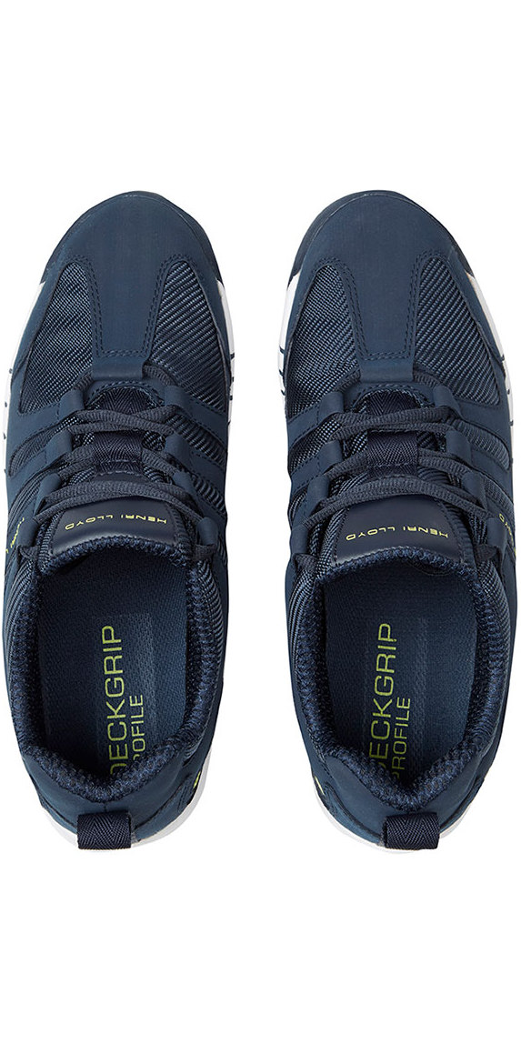 Henri Lloyd Deck Grip Profile Deck Shoes in Navy YF600001