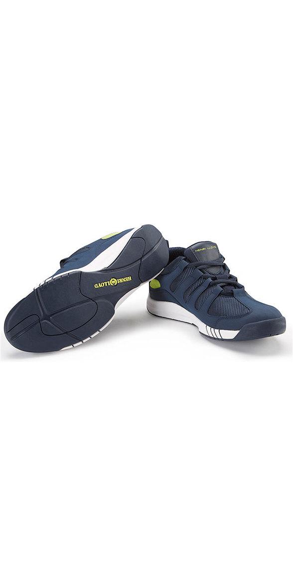 Henri Lloyd Deck Grip Profile Deck Shoes in Navy YF600001