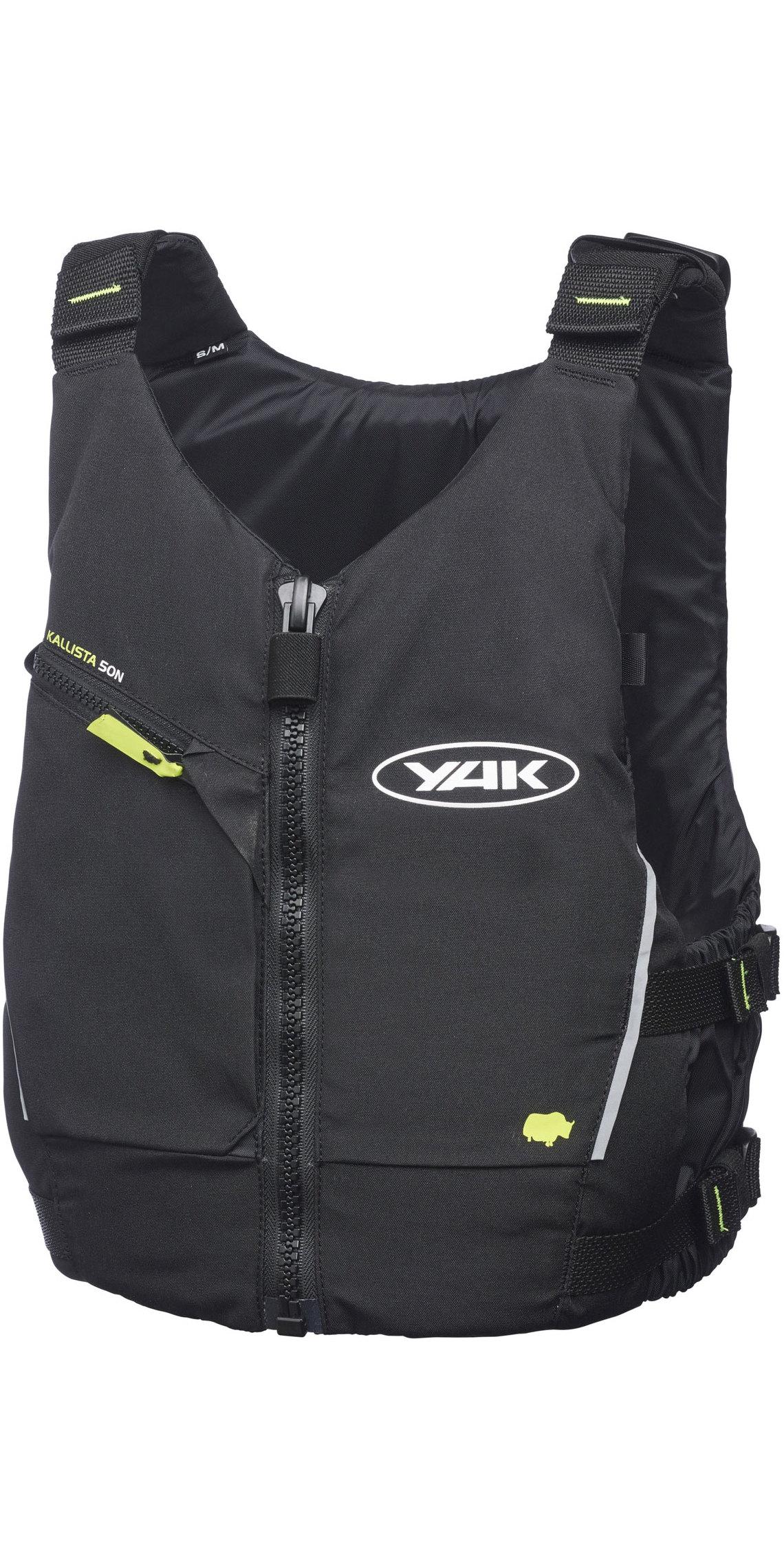 2019 Yak Junior Kallista Kayak 50N Buoyancy Aid Black 3707J