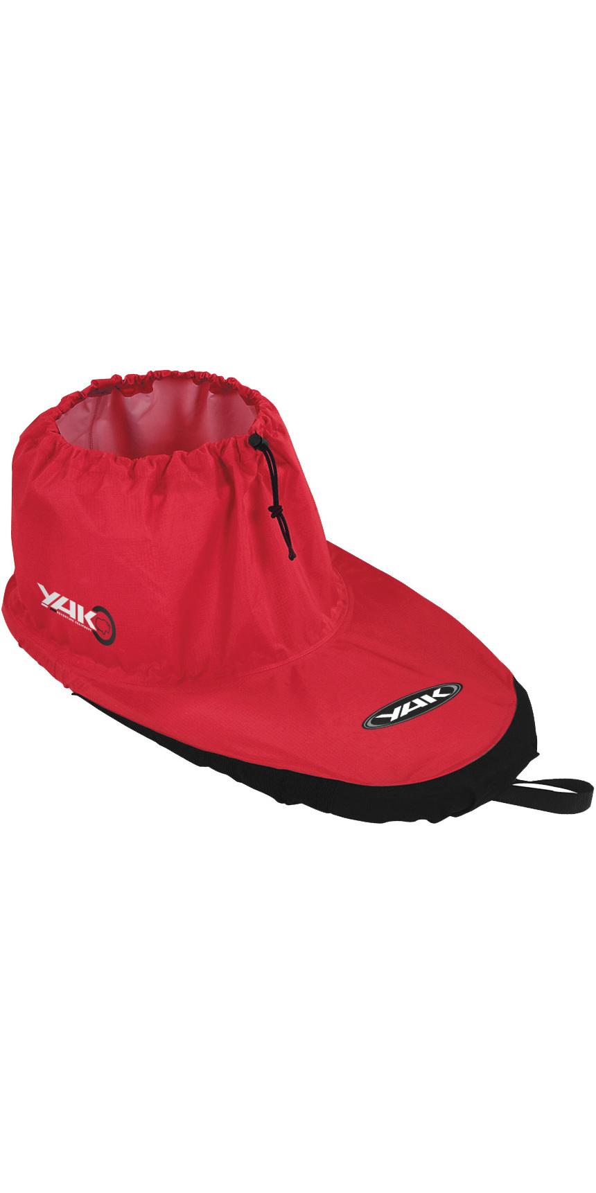 2019 Yak Kayak Kyu Fabric Deck Red 6164