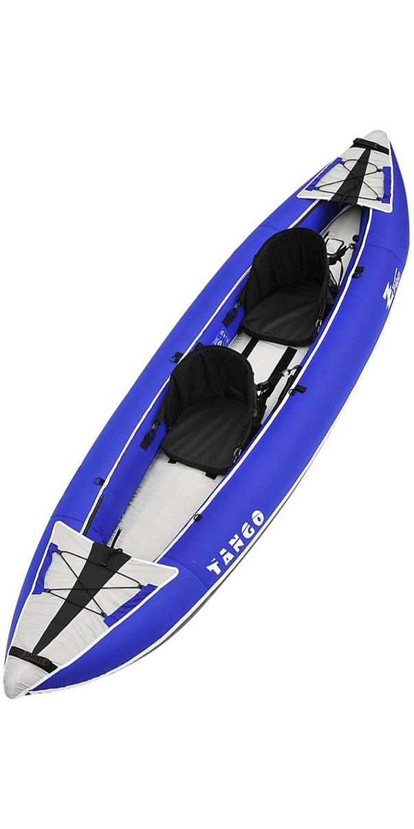 2019 Z-Pro Tango 1 or 2 Man Inflatable Kayak TA200 BLUE - Kayak Only