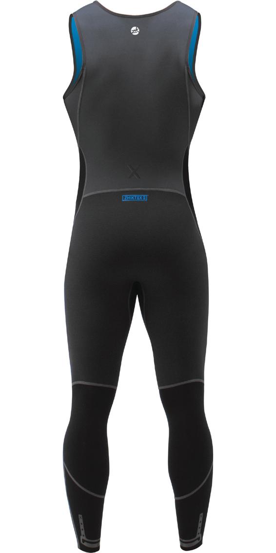 2019 Zhik Microfleece X Skiff 1mm Long John Suit BLACK SKF0570