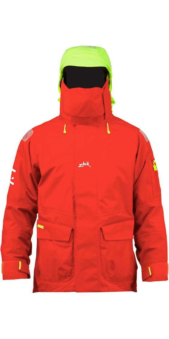 2019 Zhik Isotak 2 Jacket in Flame Red JK851
