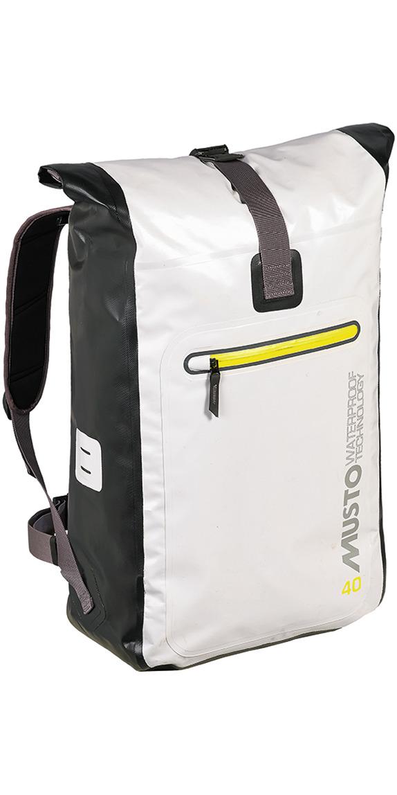 2016 Musto Evolution 40L Waterproof Back Pack Platinum Ae0270 ...