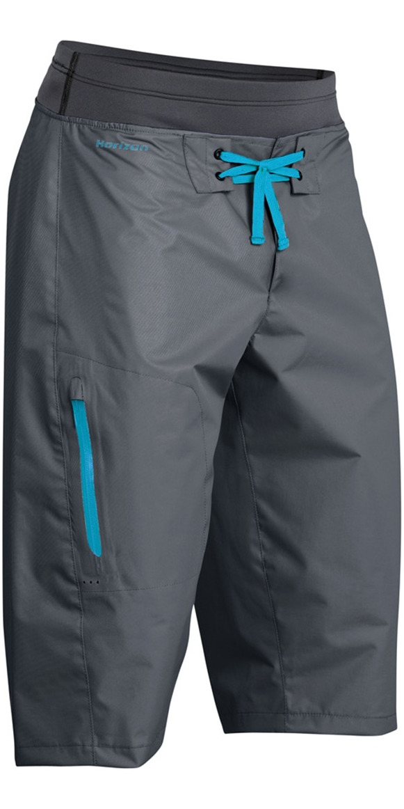 2019 Palm Horizon Canoe / Kayak Shorts Jet Grey 10372