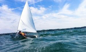 Dinghy sailor