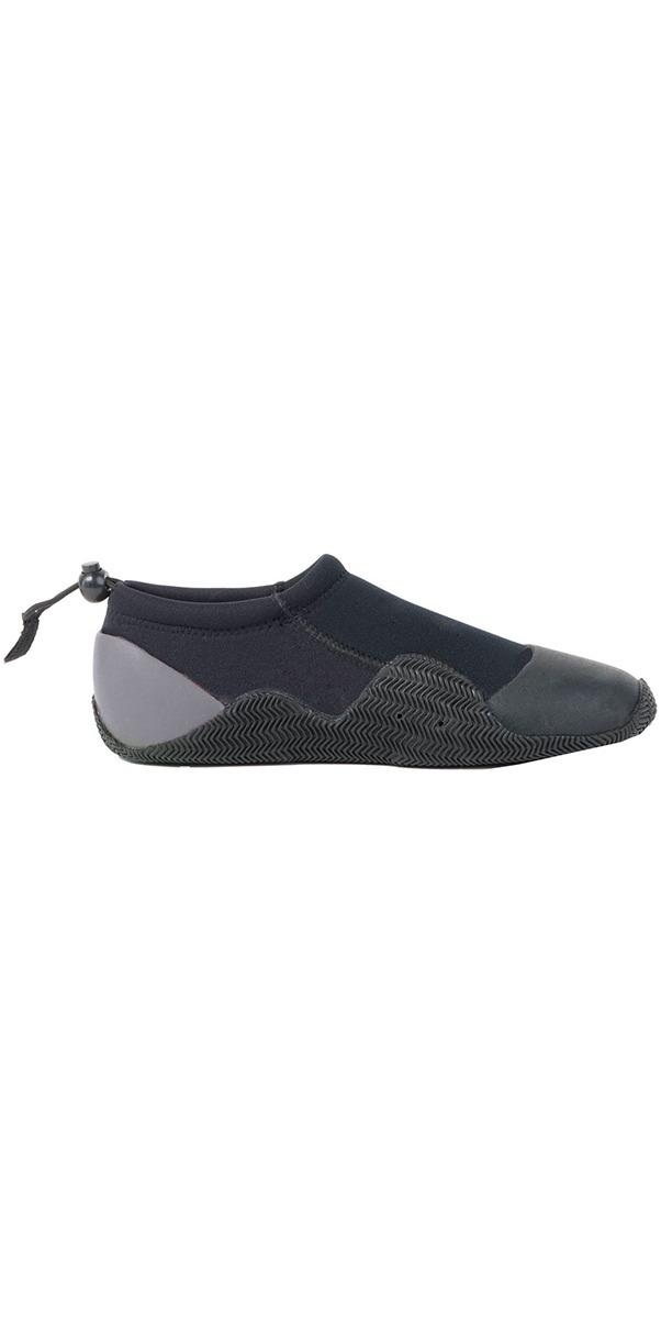 2019 Gul Kids, Child, Junior 3mm Power Slipper Shoe Black / Grey BO1267