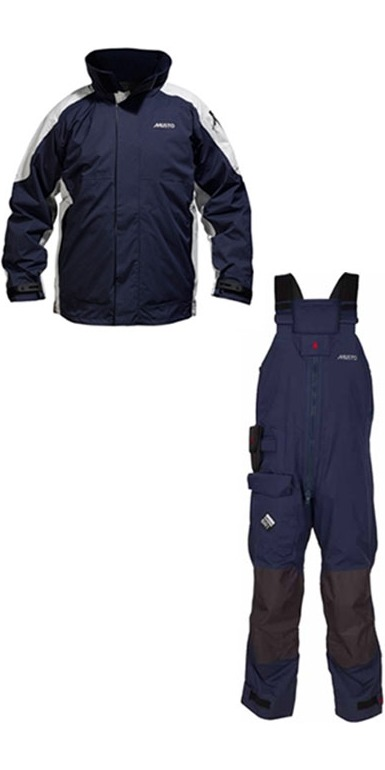 Musto BR1 RACE Jacket SB0080 & Trouser SB1233 COMBI in NAVY NEW 2011