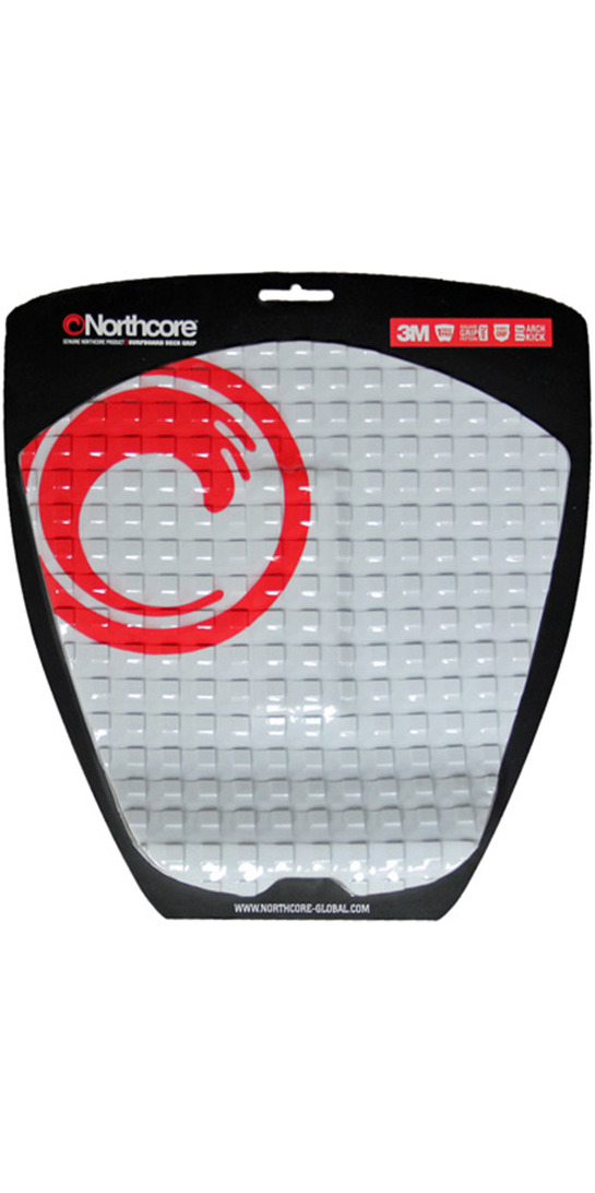 2019 Northcore Ultimate Grip Deck Pad WHITE NOCO63B