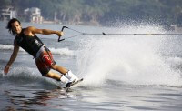 Wakeboarder in Mexico